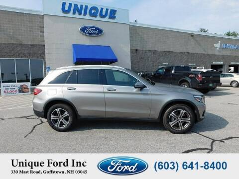 2019 Mercedes-Benz GLC for sale at Unique Motors of Chicopee - Unique Ford in Goffstown NH