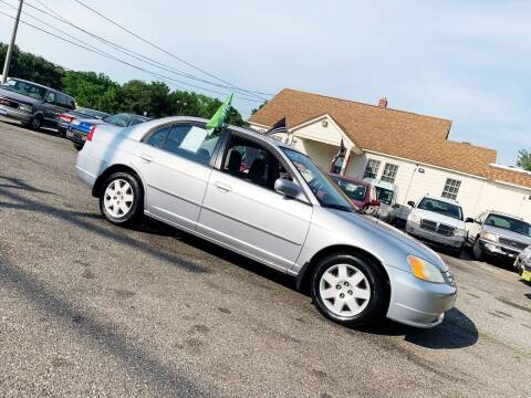 2002 Honda Civic for sale at New Wave Auto of Vineland in Vineland NJ