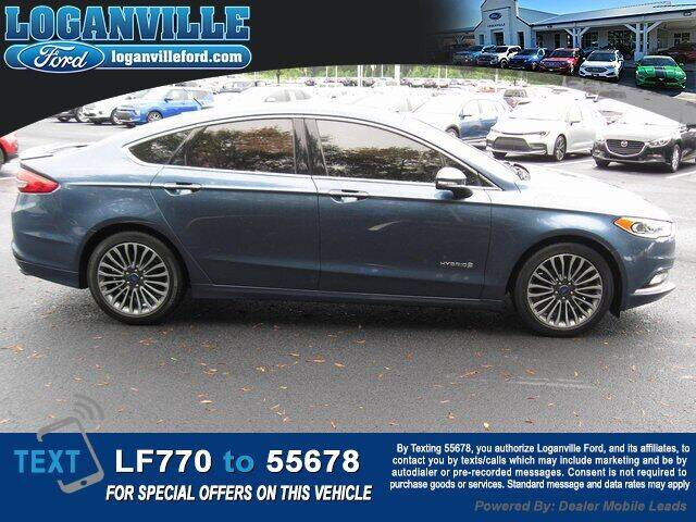 2018 Ford Fusion Hybrid for sale at Loganville Ford in Loganville GA
