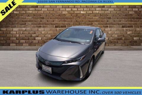 2017 Toyota Prius Prime for sale at Karplus Warehouse in Pacoima CA