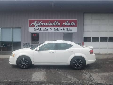 2011 Dodge Avenger for sale at Affordable Auto Sales & Service in Berkeley Springs WV