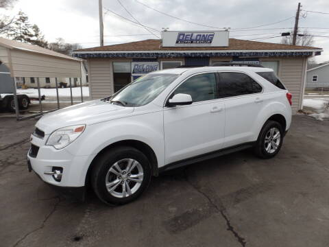2015 Chevrolet Equinox for sale at DeLong Auto Group in Tipton IN