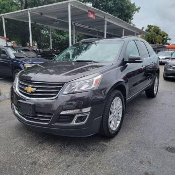 2015 Chevrolet Traverse for sale at America Auto Wholesale Inc in Miami FL