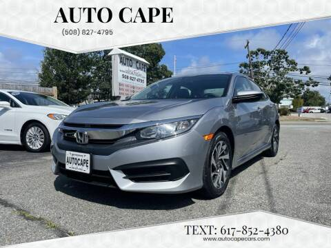 2017 Honda Civic for sale at Auto Cape in Hyannis MA