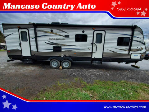 2015 Hartland Trail Runner MSB 2 Entries 34' for sale at Mancuso Country Auto in Batavia NY