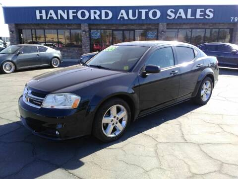 2011 Dodge Avenger for sale at Hanford Auto Sales in Hanford CA