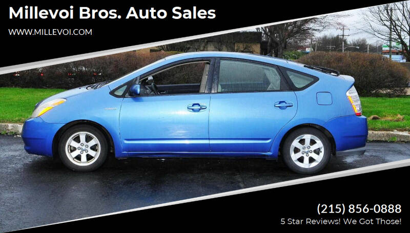 2007 Toyota Prius for sale at Millevoi Bros. Auto Sales in Philadelphia PA