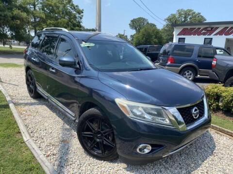 2015 Nissan Pathfinder for sale at Beach Auto Brokers in Norfolk VA