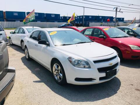 2012 Chevrolet Malibu for sale at I57 Group Auto Sales in Country Club Hills IL
