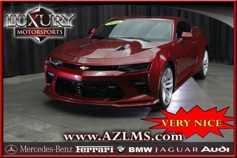 2016 Chevrolet Camaro for sale at Luxury Motorsports in Phoenix AZ