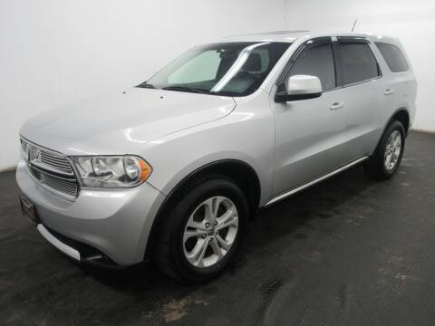 2011 Dodge Durango for sale at Automotive Connection in Fairfield OH