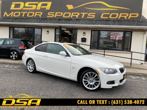 2013 BMW 3 Series for sale at DSA Motor Sports Corp in Commack NY