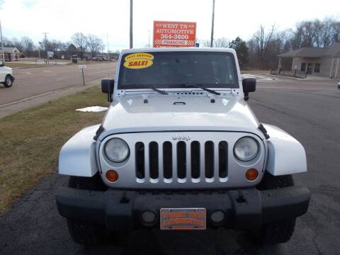 2007 Jeep Wrangler Unlimited for sale at West TN Automotive in Dresden TN