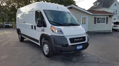 2019 RAM ProMaster Cargo for sale at Falleti Motors, Inc.  est. 1976 in Batavia NY