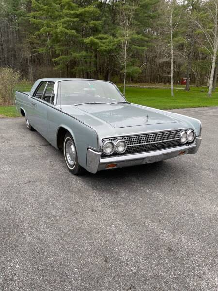 1963 Lincoln Continental for sale at Essex Motorsport, LLC in Essex Junction VT