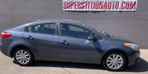 2016 Kia Forte for sale at Superstition Auto in Mesa AZ