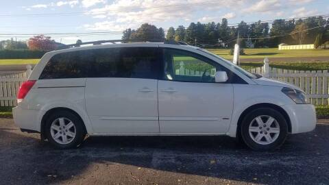 2006 Nissan Quest for sale at Alex Bay Rental Car and Truck Sales in Alexandria Bay NY