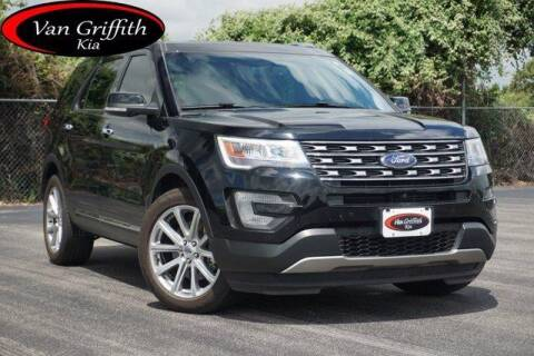 2017 Ford Explorer for sale at Van Griffith Kia Granbury in Granbury TX