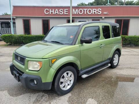 2006 Honda Element for sale at Chase Motors Inc in Stafford TX