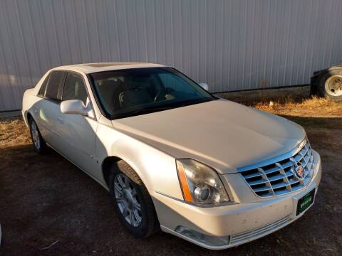 2008 Cadillac DTS for sale at HALVORSON AUTO in Cooperstown ND