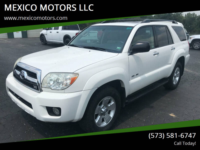 2006 Toyota 4Runner for sale at MEXICO MOTORS LLC in Mexico MO