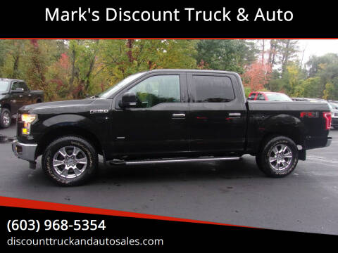 2015 Ford F-150 for sale at Mark's Discount Truck & Auto in Londonderry NH