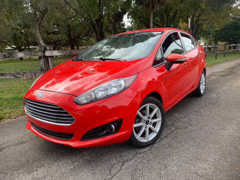 2015 Ford Fiesta for sale at LESS PRICE AUTO BROKER in Hollywood FL