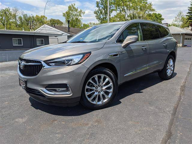 2018 Buick Enclave for sale at GAHANNA AUTO SALES in Gahanna OH