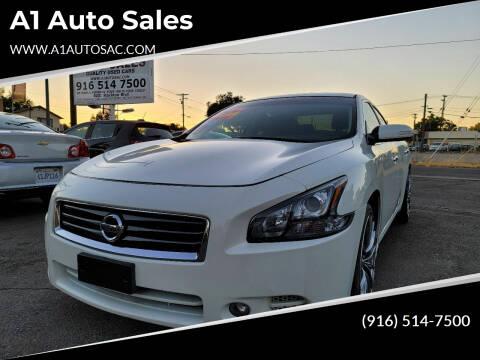 2013 Nissan Maxima for sale at A1 Auto Sales in Sacramento CA