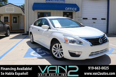 2014 Nissan Altima for sale at Van 2 Auto Sales Inc in Siler City NC