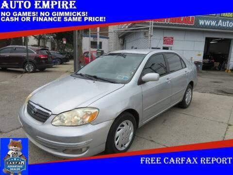2006 Toyota Corolla for sale at Auto Empire in Brooklyn NY