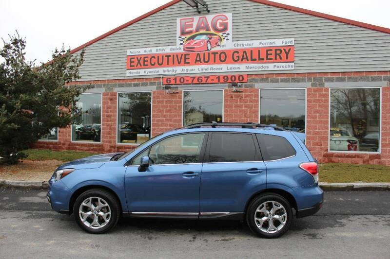 2017 Subaru Forester for sale at EXECUTIVE AUTO GALLERY INC in Walnutport PA