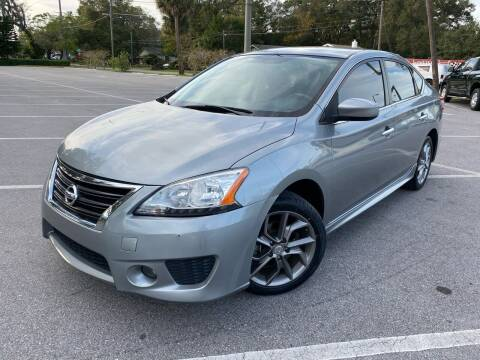 2014 Nissan Sentra for sale at CHECK  AUTO INC. in Tampa FL