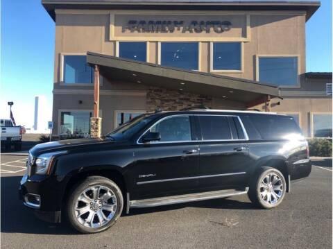 2015 GMC Yukon XL for sale at Moses Lake Family Auto Center in Moses Lake WA