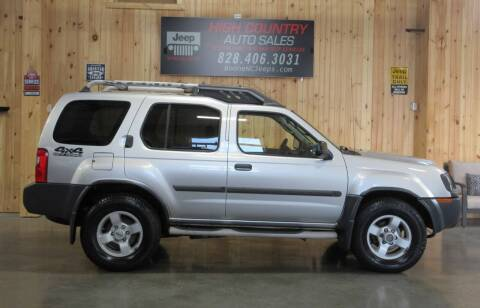 2004 Nissan Xterra for sale at Boone NC Jeeps-High Country Auto Sales in Boone NC