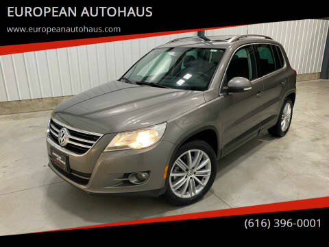 2010 Volkswagen Tiguan for sale at EUROPEAN AUTOHAUS in Holland MI