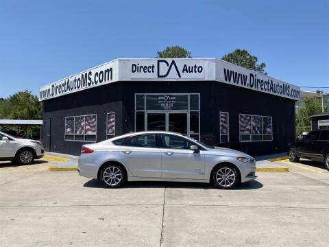2017 Ford Fusion Hybrid for sale at Direct Auto in D'Iberville MS