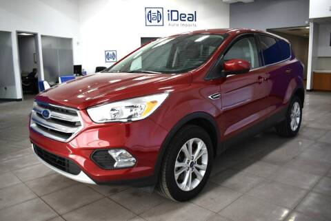 2017 Ford Escape for sale at iDeal Auto Imports in Eden Prairie MN