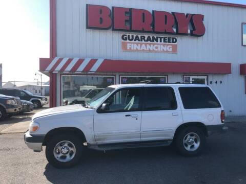 2001 Ford Explorer for sale at Berry's Cherries Auto in Billings MT