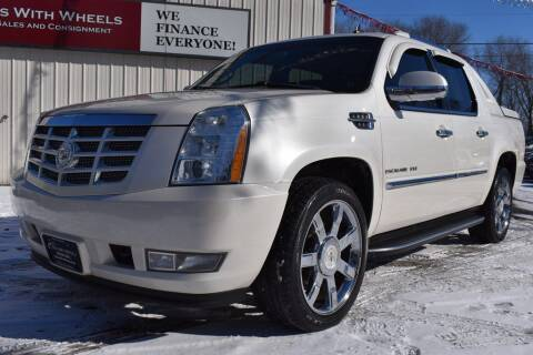 2011 Cadillac Escalade EXT for sale at Dealswithwheels in Inver Grove Heights MN