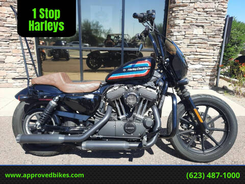 2020 Harley-Davidson Iron 1200 XL1200NS for sale at 1 Stop Harleys in Peoria AZ