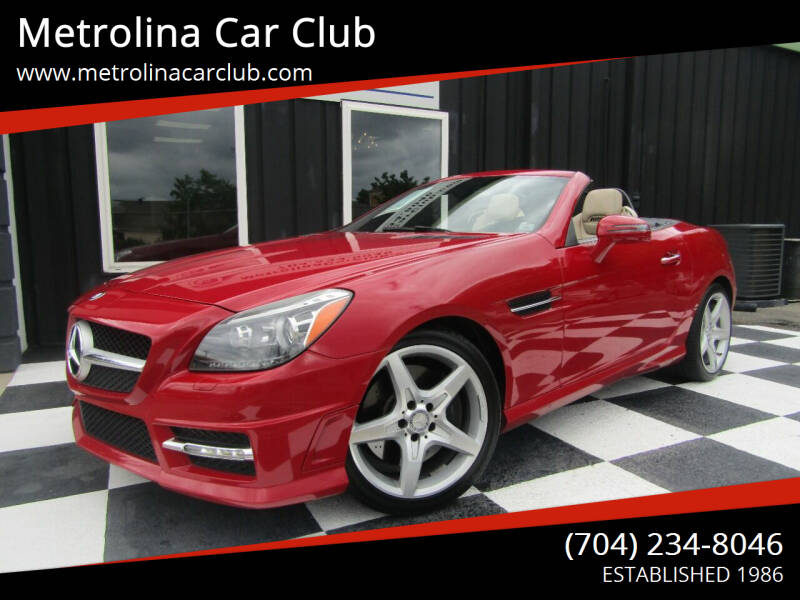2013 Mercedes-Benz SLK for sale at Metrolina Car Club in Matthews NC