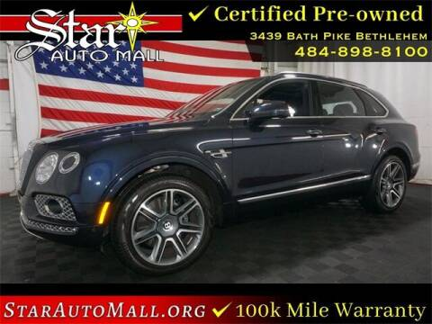 2019 Bentley Bentayga for sale at STAR AUTO MALL 512 in Bethlehem PA
