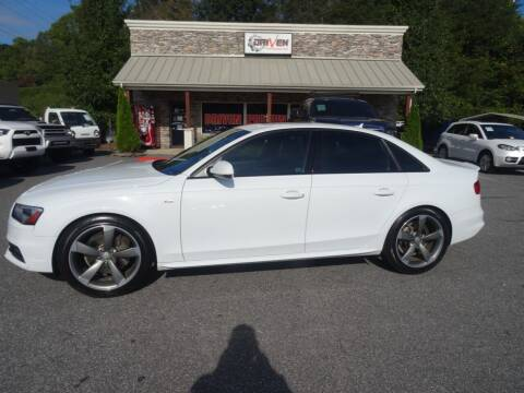 2014 Audi A4 for sale at Driven Pre-Owned in Lenoir NC