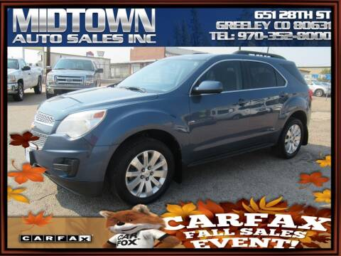 2011 Chevrolet Equinox for sale at MIDTOWN AUTO SALES INC in Greeley CO