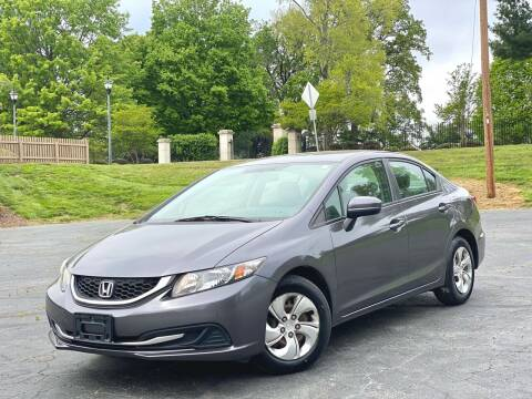 2014 Honda Civic for sale at Sebar Inc. in Greensboro NC