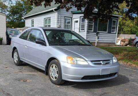 2002 Honda Civic for sale at Budget City Auto Sales LLC in Racine WI