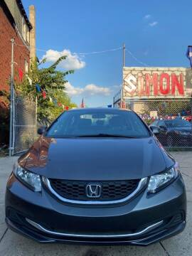 2013 Honda Civic for sale at Simon Auto Group in Newark NJ