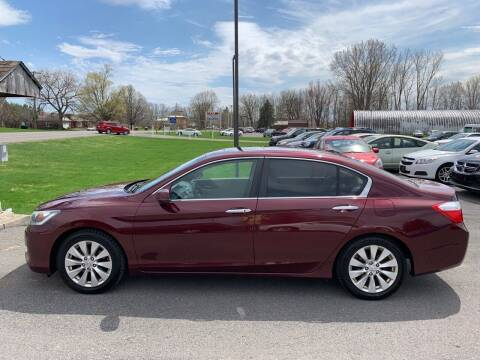 2013 Honda Accord for sale at Paul Hiltbrand Auto Sales LTD in Cicero NY