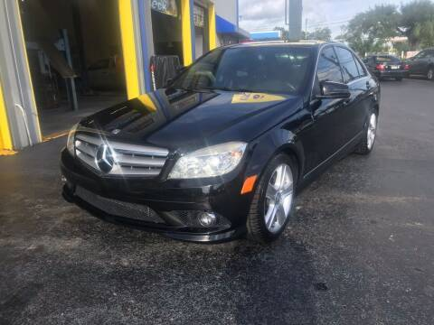 2010 Mercedes-Benz C-Class for sale at RoMicco Cars and Trucks in Tampa FL